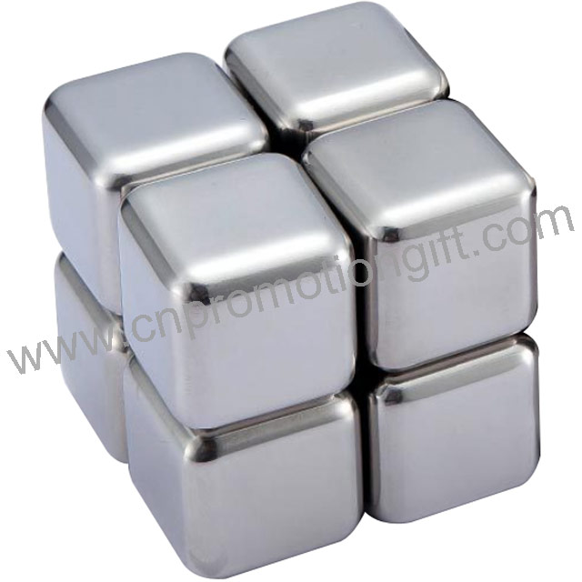 36mm New Product Ideas 2020 Whiskey Rocks Stainless Steel Cube For Beverage Cooler