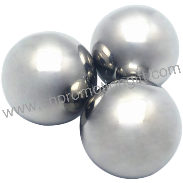 Best Selling 25.4mm Cooling Cubes Balls Of Steel Whiskey Stones With Customer Logo