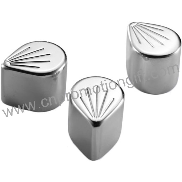 2019 Hot Sale Bar Accessories Stainless Cubes Whiskey Chill Stone With Customer Logo