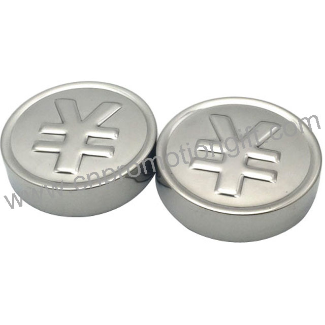 Wine Gift RMB Coins Ice Cube Stainless Wholesale Whiskey Stones With Customer's Logo